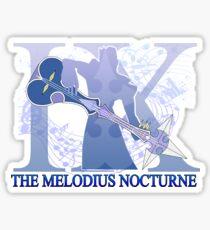 THE MELODIUS NOCTURNE Sticker