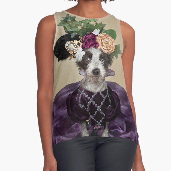 Shelter Pets Project - Whimsee Sleeveless Top