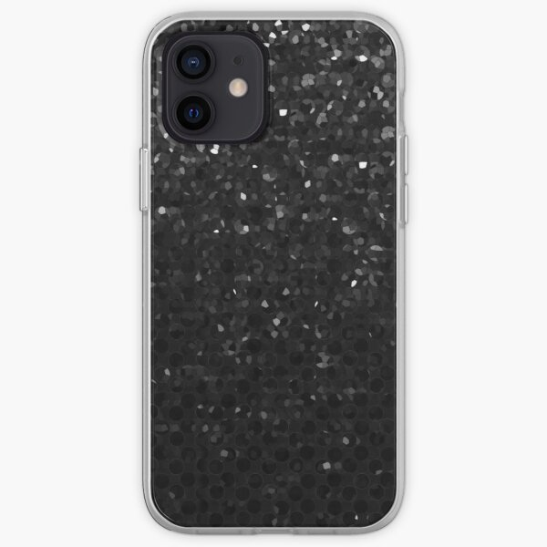 Black Crystal Bling Strass G283 iPhone Soft Case