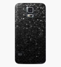 Black Crystal Bling Strass G283 Case/Skin for Samsung Galaxy