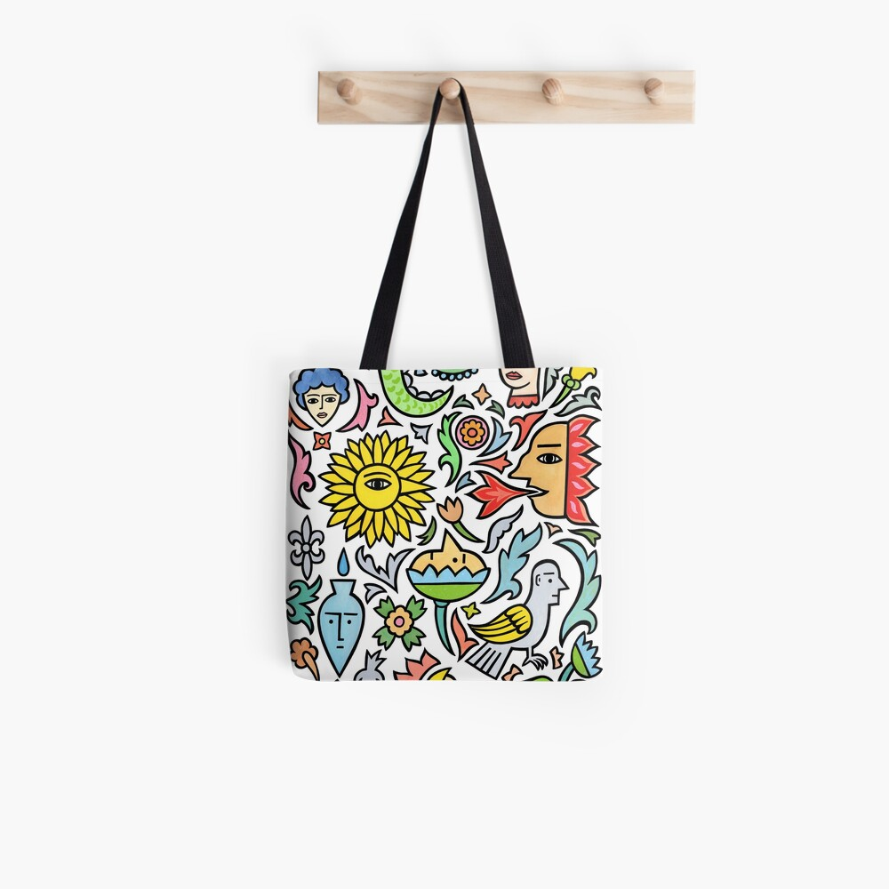 A bird among the other stuff Tote Bag
