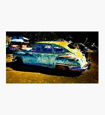 Vintage Cars Photographic Print