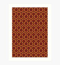 The Shining Carpet Texture Art Print