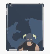 Dovah & Dovahkiin - Skyrim Block Colour Minimalist iPad Case/Skin