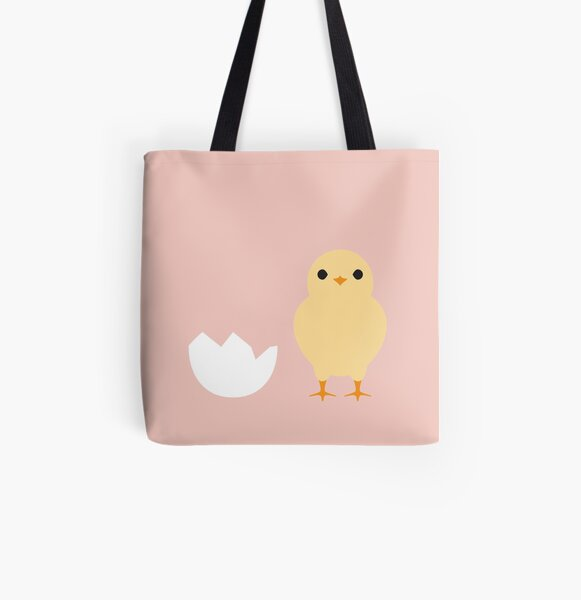 Chick All Over Print Tote Bag