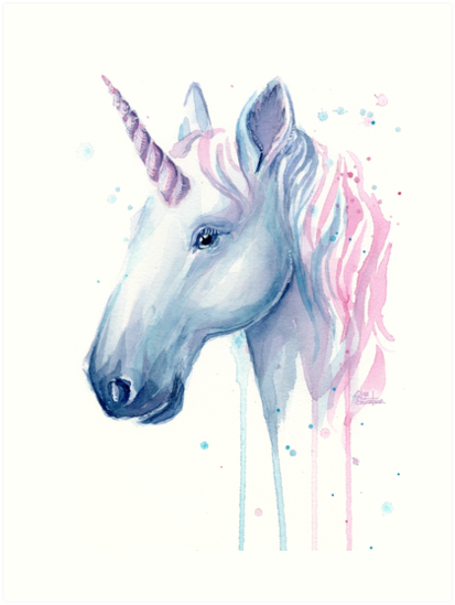 Playful image with regard to free printable unicorn