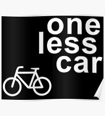 ONE LESS CAR Poster