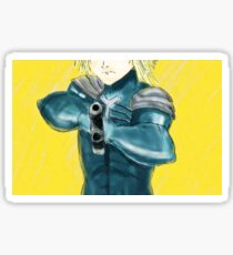 MGS2 Raiden Sticker