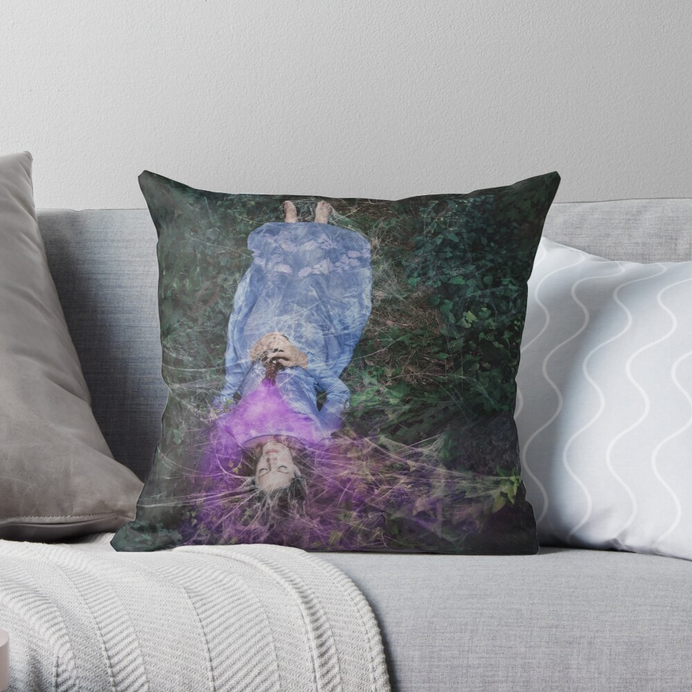 A Poisoned Sleep Of Kissless Dreams Throw Pillow