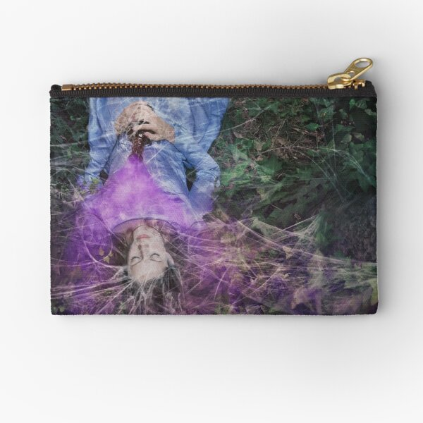 A Poisoned Sleep Of Kissless Dreams Zipper Pouch