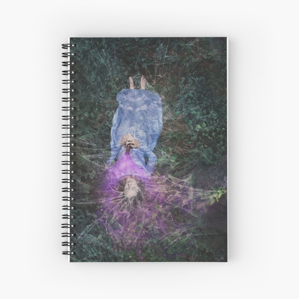 A Poisoned Sleep Of Kissless Dreams Spiral Notebook
