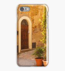 Pienza Doorway iPhone Case/Skin