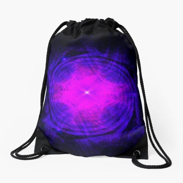 Dripping Into Future Energy ~ Fractal Art Drawstring Bag