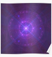 Mew's Third Eye ~ Fractal Art Poster