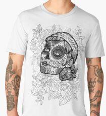 Catrina Roses BW Men's Premium T-Shirt