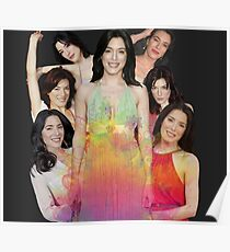 Jaime Murray collage Poster