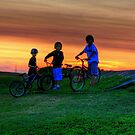 Cycle Buddies by Larry Trupp