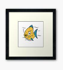 Fishy Framed Print