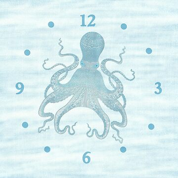 Octopus Clock by Whimsydesigns