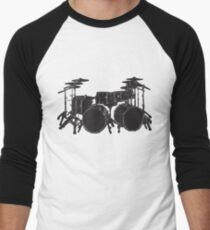 Drum Kit Men's Baseball ¾ T-Shirt