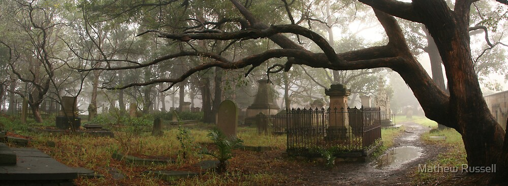 Newtown Cemetery by Mathew Russell