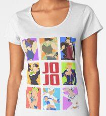 JoJo's Bizarre Adventure - Heroes Women's Premium T-Shirt