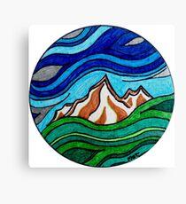Mountain Wave Canvas Print