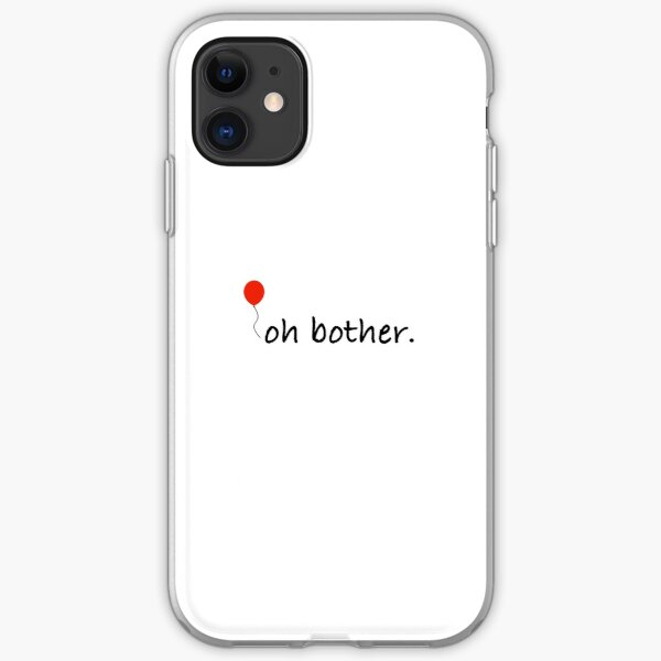 Oh Bother - Winnie the Pooh Quote iPhone Soft Case