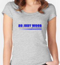 Dr Judy Wood - The Truth is Known and Knowable (ZERO MARK-UP) Women's Fitted Scoop T-Shirt