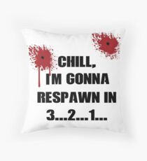 Call of Duty Respawn Throw Pillow