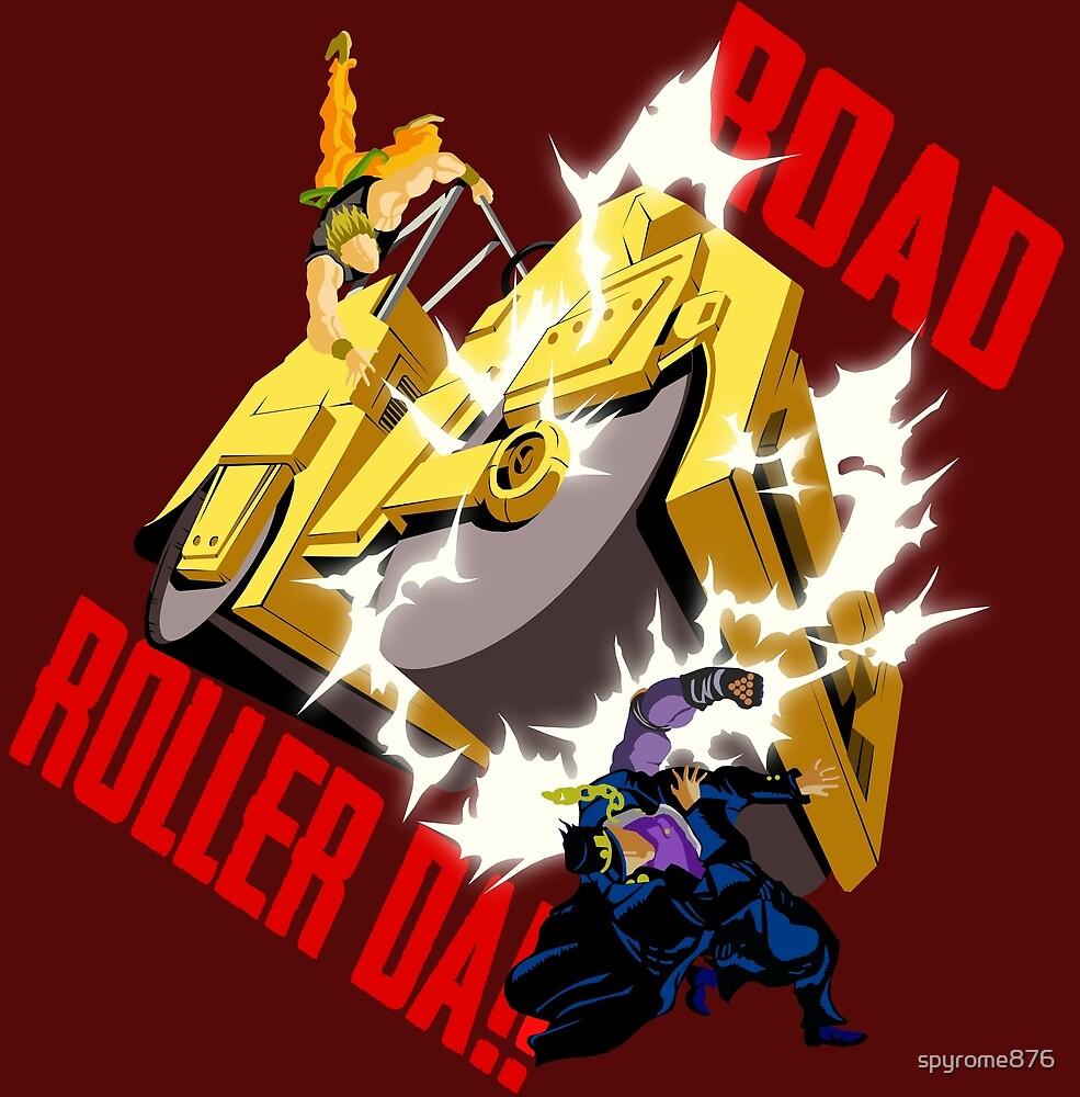 Road Roller-Da!! by spyrome876