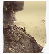 Vintage Grand Canyon Photo, 1883 Poster