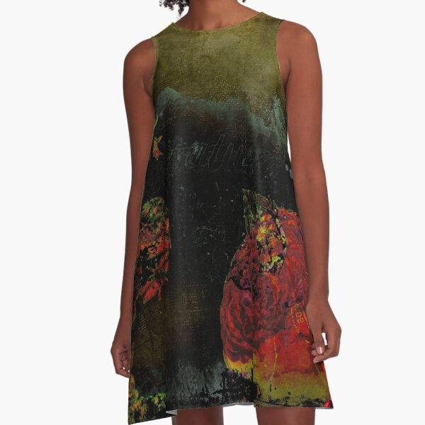 Fascinated Lou by Hyndussidart.com A-Line Dress