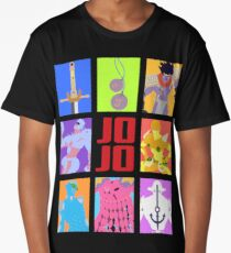 JoJo's Bizarre Adventure - Stands and Weapons Long T-Shirt