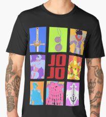 JoJo's Bizarre Adventure - Stands and Weapons Men's Premium T-Shirt
