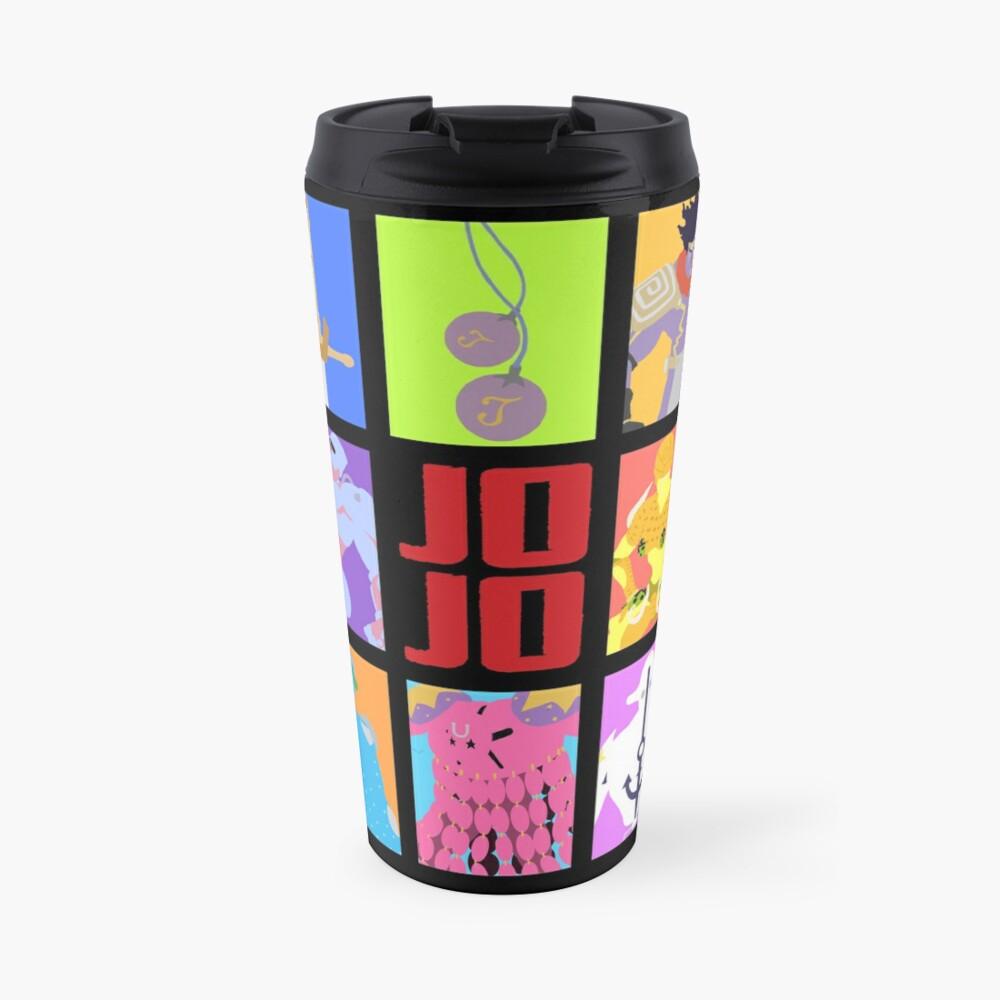 JoJo's Bizarre Adventure - Stands and Weapons Travel Mug