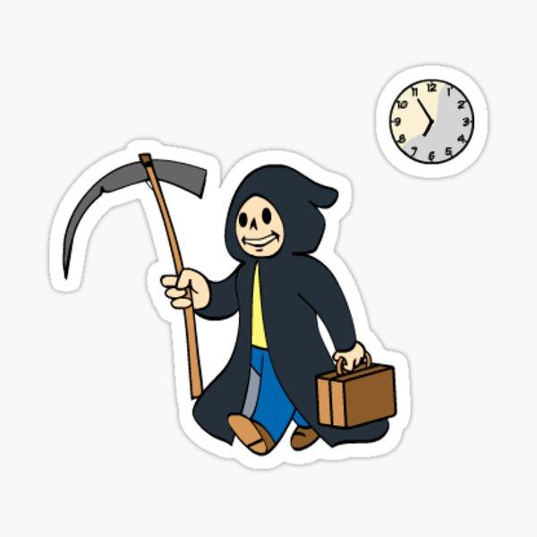 Fallout - Grim Reaper Sticker