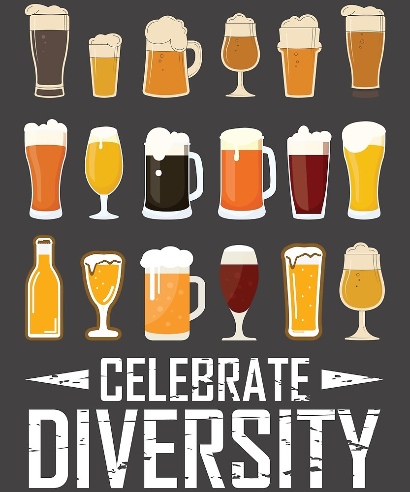 Celebrate Diversity T-Shirt by 5ftshirt