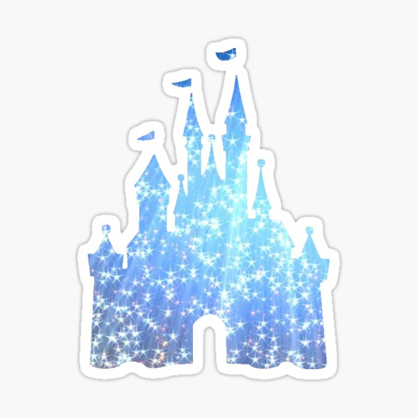 Sparkle Castle Sticker