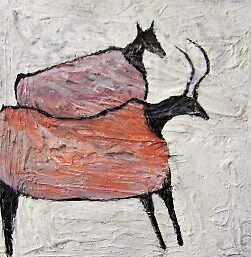 CAVE PAINTING by ANNETTE HAGGER