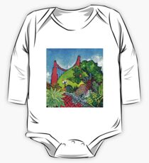 Garden Gate One Piece - Long Sleeve
