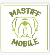 Mastiff Mobile Sticker
