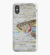 Rainbow Trout Collage by C.E. White - Fly Fishing (v2) iPhone Case/Skin