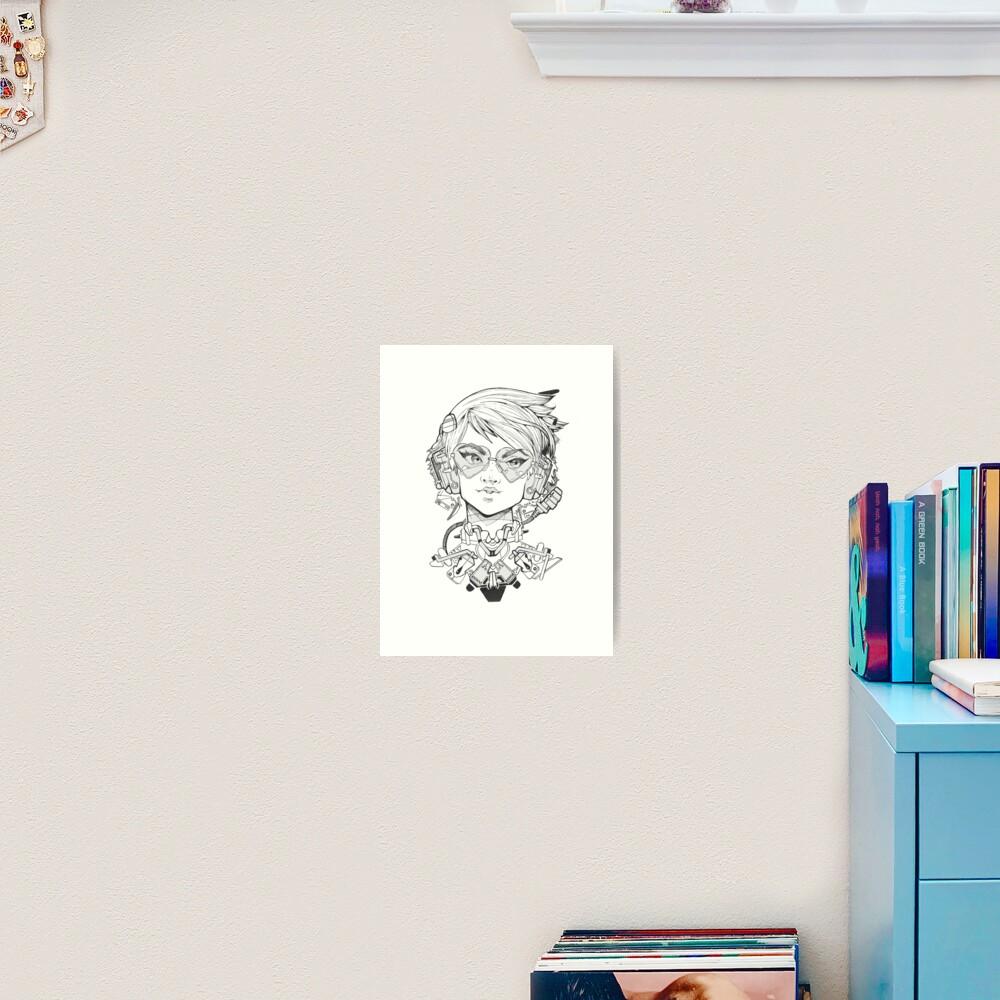HeartEyes.CBPK Art Print