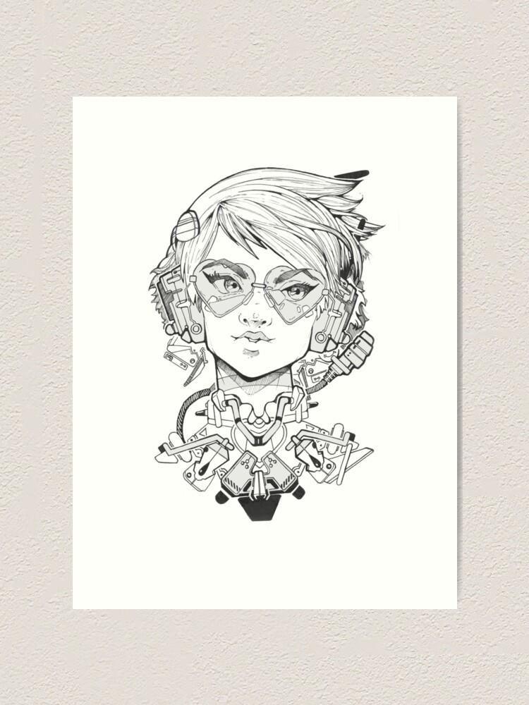 Alternate view of HeartEyes.CBPK Art Print