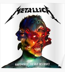 Metallica - Hardwired To Self-Destruct Album Cover - Sticker/Drawstring Bag/Spiral Notebook/And More! Poster