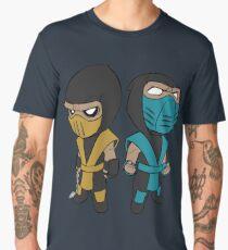 Scorpion & Sub-Zero Men's Premium T-Shirt