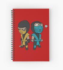 Scorpion & Sub-Zero Spiral Notebook