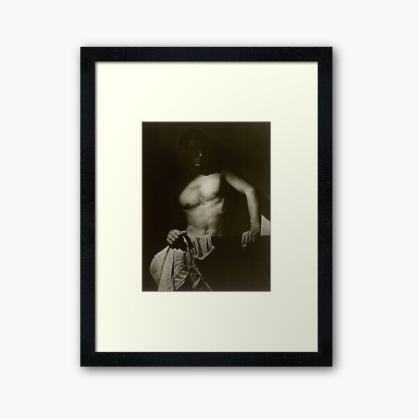 Max Dupain after Surfing by Olive Cotton, 1930s Framed Art Print