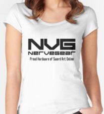 Nervegear Promotional Merch Women's Fitted Scoop T-Shirt